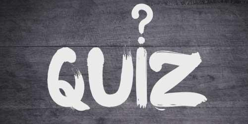 type quiz