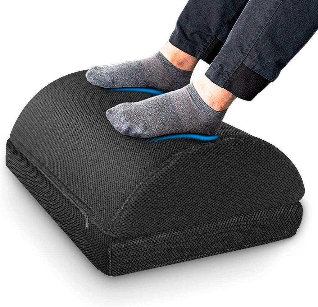 Rocking Foot Stool Pillows